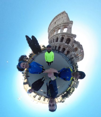 Colosseum - Runnning tour in Rome
